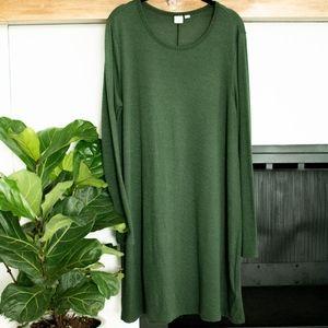 Gap Olive Green Sweater Dress
